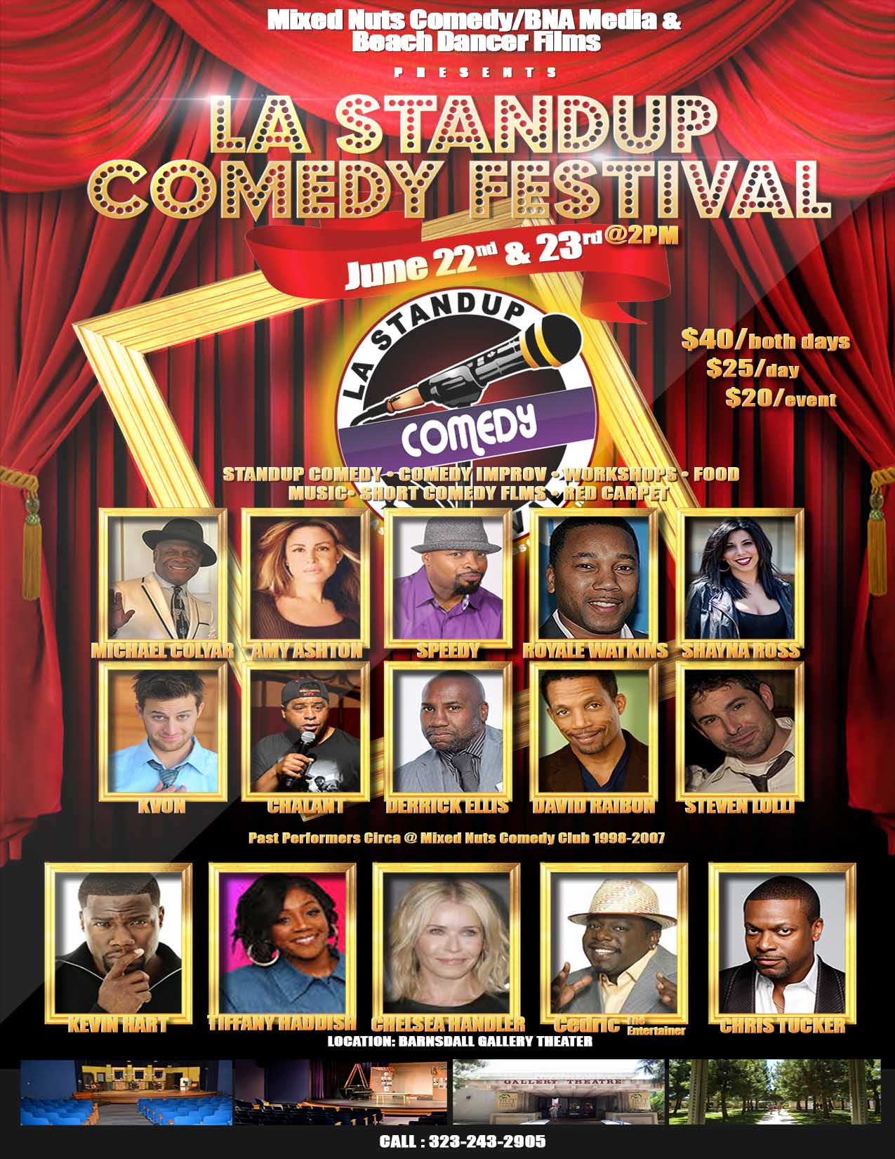 LA Stand Up Comedy Festival Flyer